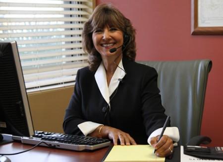 Coach Gail at Work